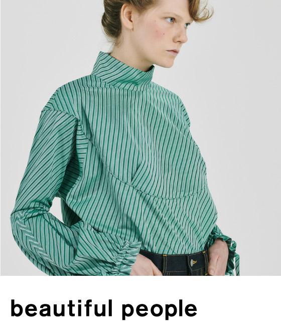 beautiful people(ビューティフルピープル)のアイテム一覧へ