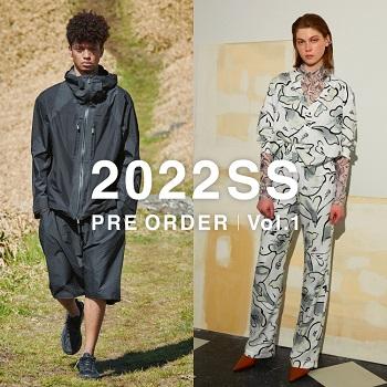 【2022SS PRE ORDER】予約受付スタート!!